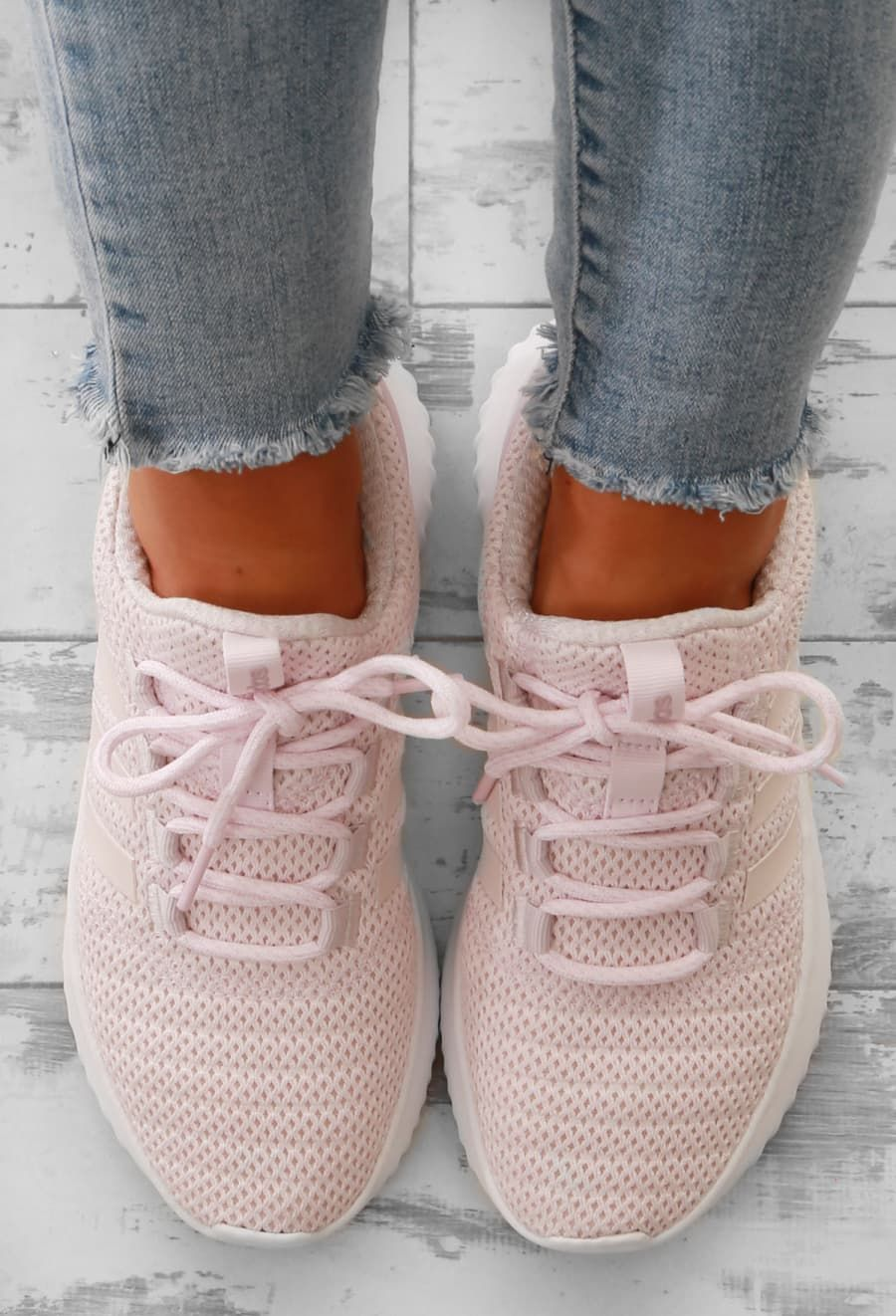 a0fcb2707c4e Adidas Pink Cloudfoam Ultimate Trainers New York