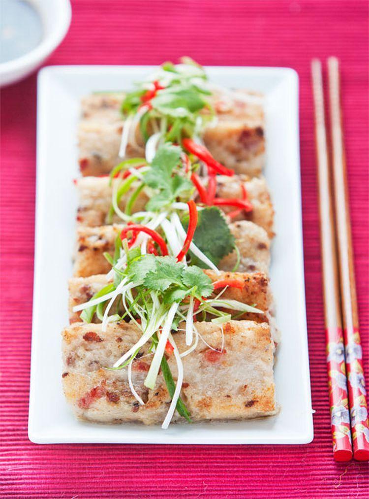 Chinese New Year Special Turnip Cake Recipe Dim sum