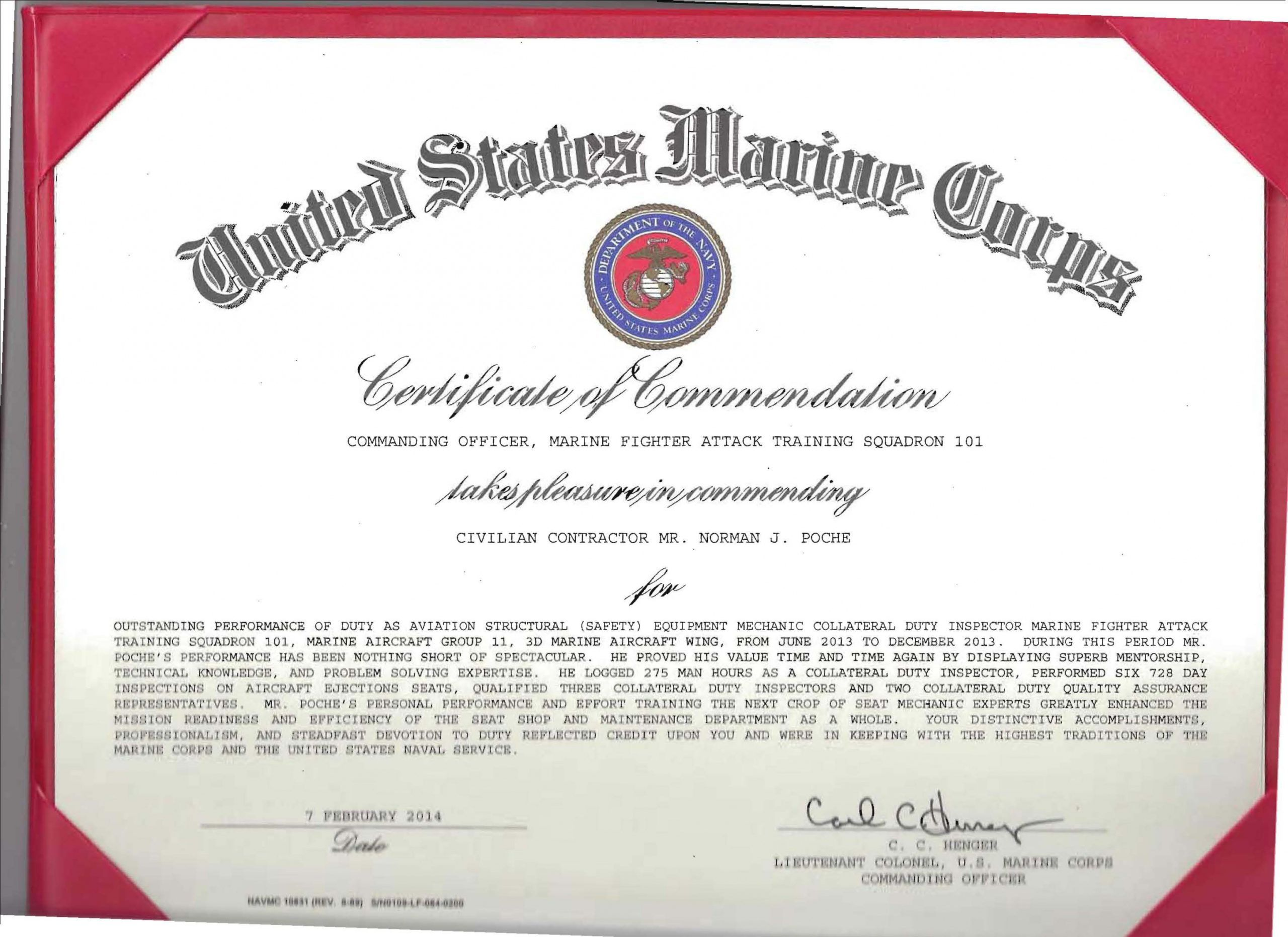 Browse Our Sample Of Certificate Of Commendation Template Certificate Of Appreciation Certificate Template Job Promotion