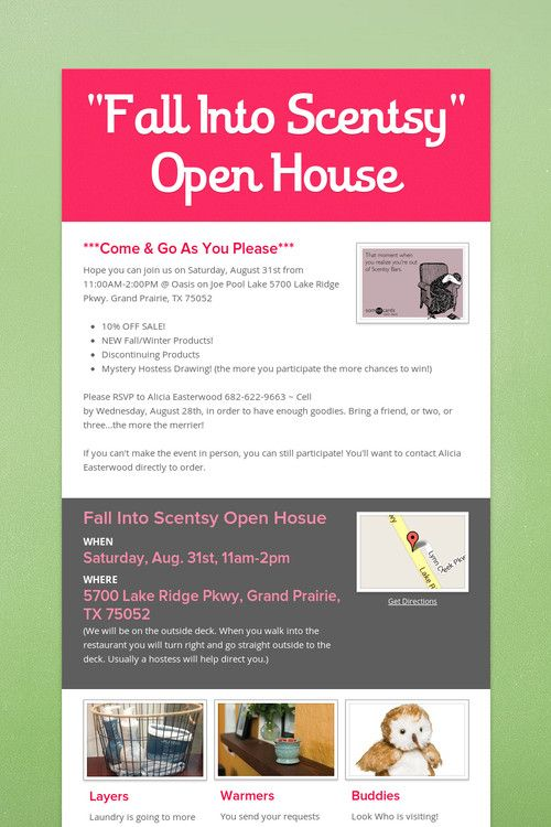 fun business open house flyer - Solidgraphikworks