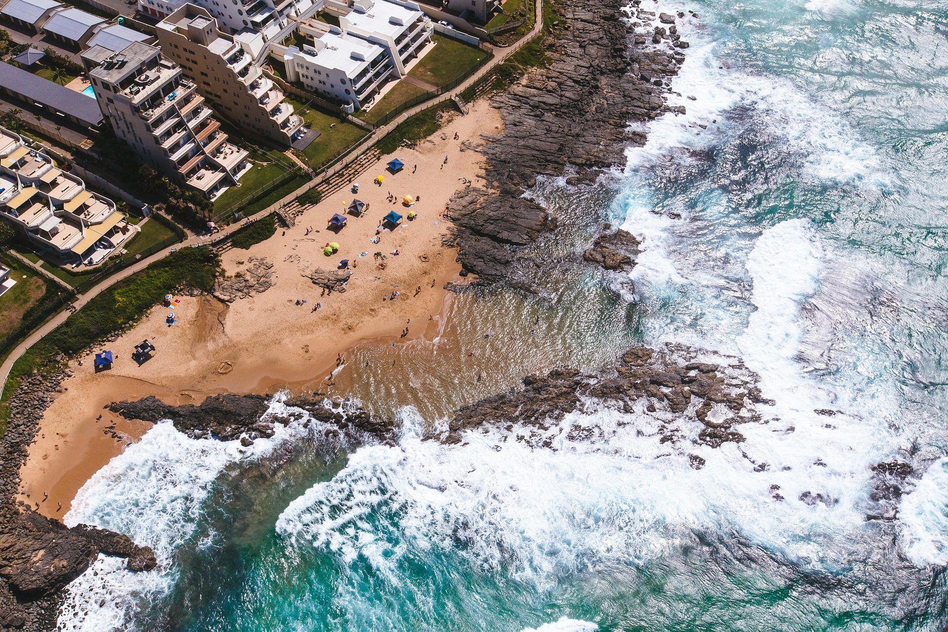 playa, costa, olas, rocas, alturas, edificios, 1709041818
