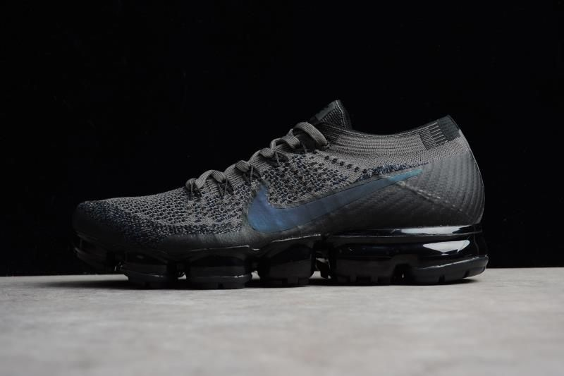 7edccaef56162 Nike Air VaporMax Flyknit Midnight Fog Black 849558-009 For Sale  owsneakers.com  nike  nikes  sneakers  sneaker  sneakerhead  mensfashion   men  women ...