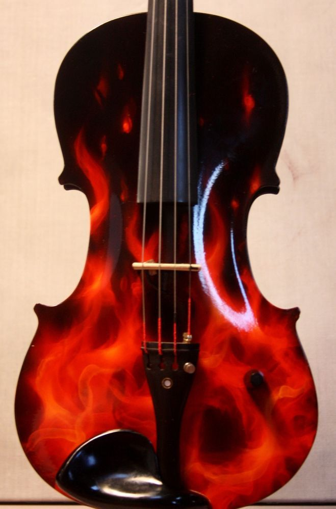 stunning custom electric violin better than yamaha zeta violin old violin cool stuff violin. Black Bedroom Furniture Sets. Home Design Ideas