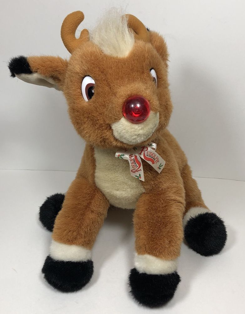 19+ Rudolph the red nosed reindeer stuffed animal ideas in 2021