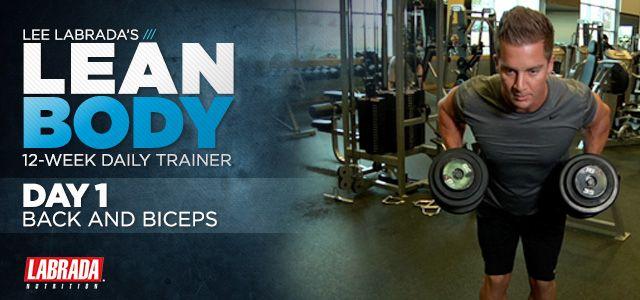Lee Labradau0027s 12-Week Lean Body Trainer Body trainer, Lean body - fresh arnold blueprint day 11