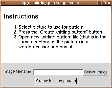 Knitting Pattern Generator Freecode Crochet Pinterest New Knitting Pattern Generator