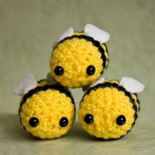 Amigurumi Bumblebee - kawaii