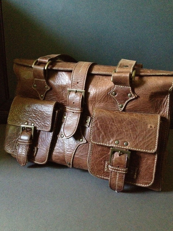 Saddle Bag Brown Leather Handbags