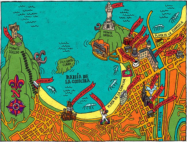 San Sebastin Ny times Basque and Spain