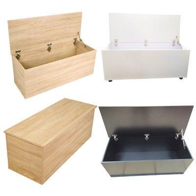 Superb Modern Oak Ottoman Rectangular Chest Trunk Storage Bedside Alphanode Cool Chair Designs And Ideas Alphanodeonline