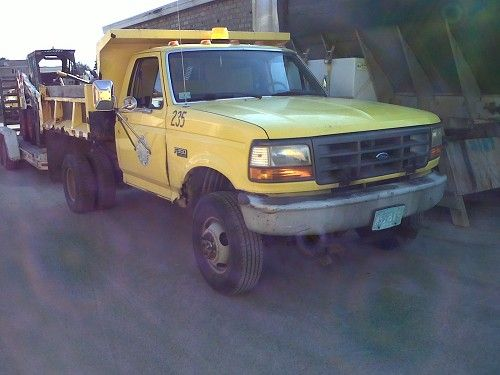 1996 Ford F-350 4x4 Dump. Listing #13838 Ends: 9/21/12 at 12:20pm