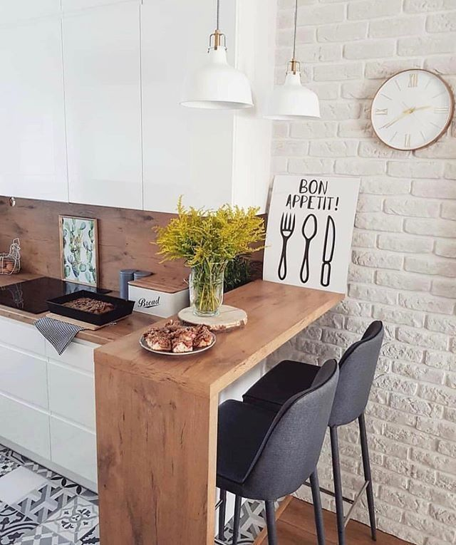 Interior Design For Very Small Kitchen: 39 Exceptional Ways To Improve And Decorate With A Very