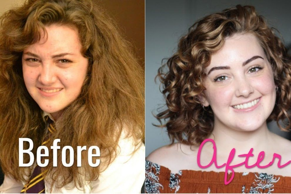 I Didn T Know My Hair Was Curly Curly Hair Journey Prayogs Curly Hair Styles Wavy Hair Tips Scrunched Hair