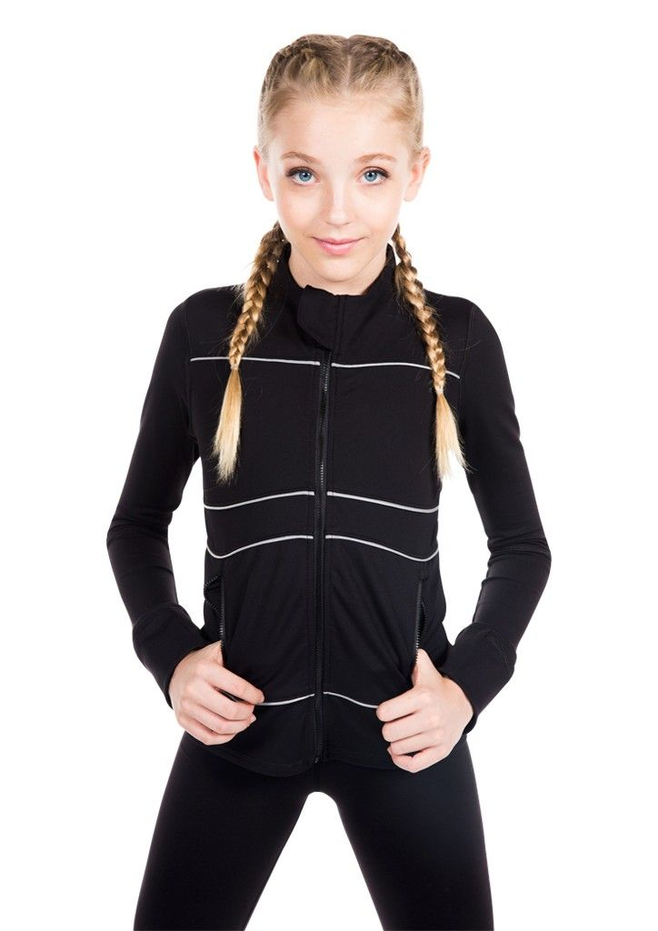 Alex Black- Tween Girl Activewear -MissBehaveGirls.com
