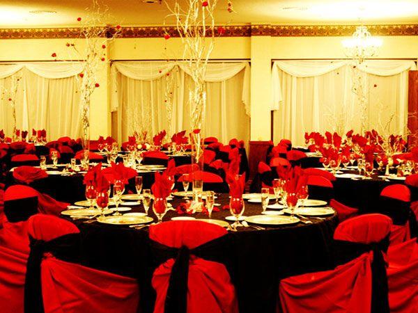 decoración de boda en negro y rojo | decoración in 2019 | red