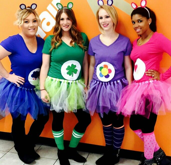 Care bear costume - MOMprom?                              …                                                                                                                                                                                 More #carebearcostume