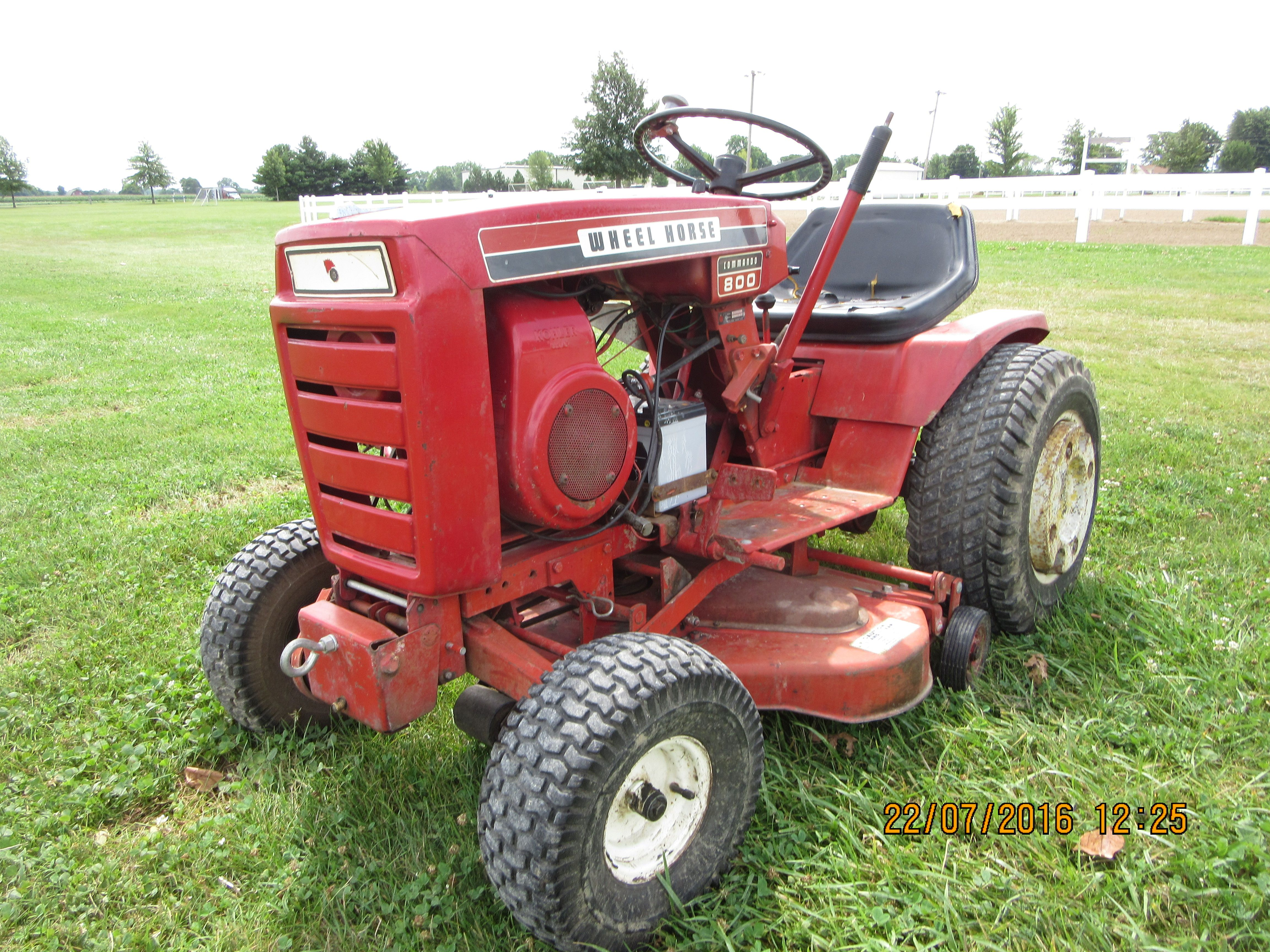 Wheel Horse Command 800 Mower Tractor Wheel Horse Tractor Tractors Riding Lawn Mowers