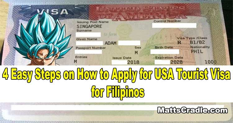 4 Easy Steps to Apply for US Visa How to apply, Visa