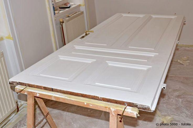 t ren streichen leicht gemacht home pinterest t ren renovieren und renovierung. Black Bedroom Furniture Sets. Home Design Ideas