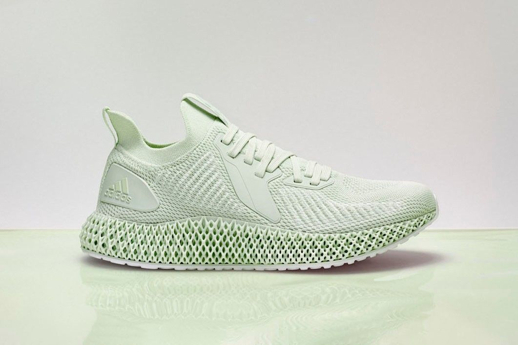 Parley Adidas Team Up For Tonal Aero Green Alphaedge 4d Footwear Kanye West Adidas Best Sneakers