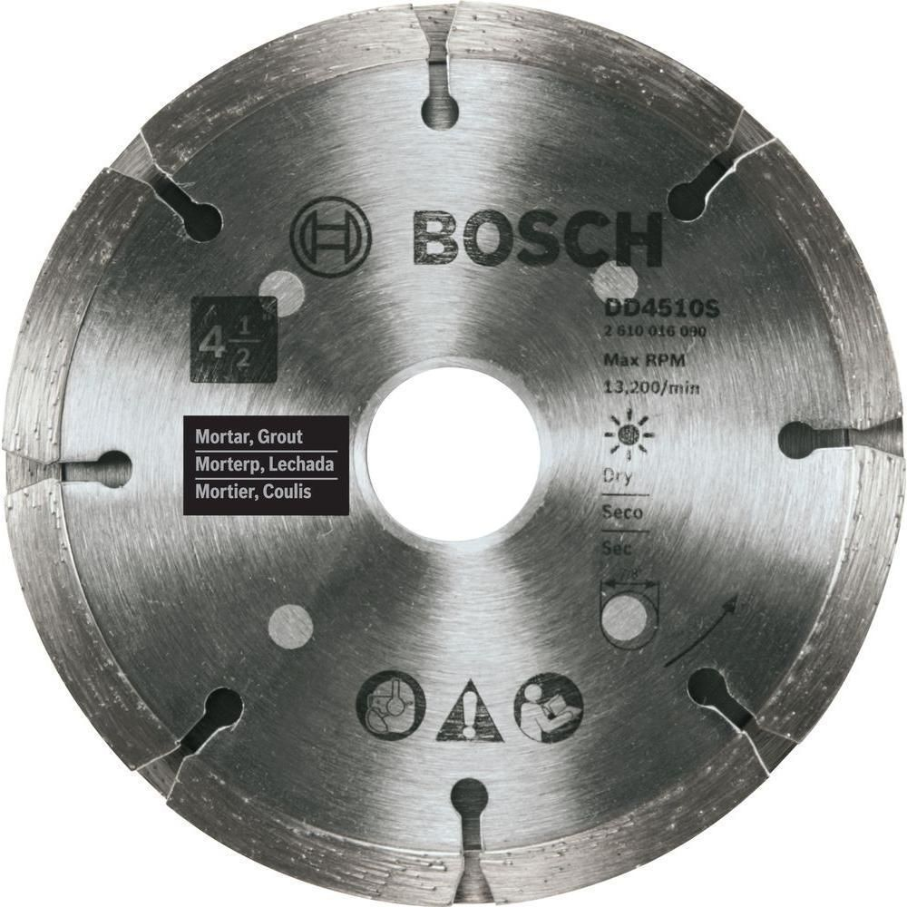 Bosch 4 5 In Sandwich Tuckpointing Diamond Blade Products Circular Saw Blades Welding Technology Blade