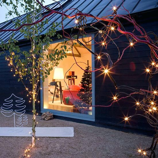 Christmas Lights Decorating Ideas Ideal Home