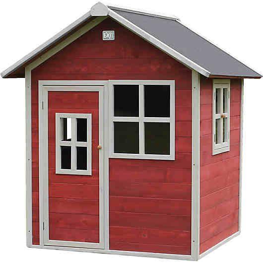 Spielhaus Loft, rot in 2020 Spielhaus, Hühnerhaus, Loft