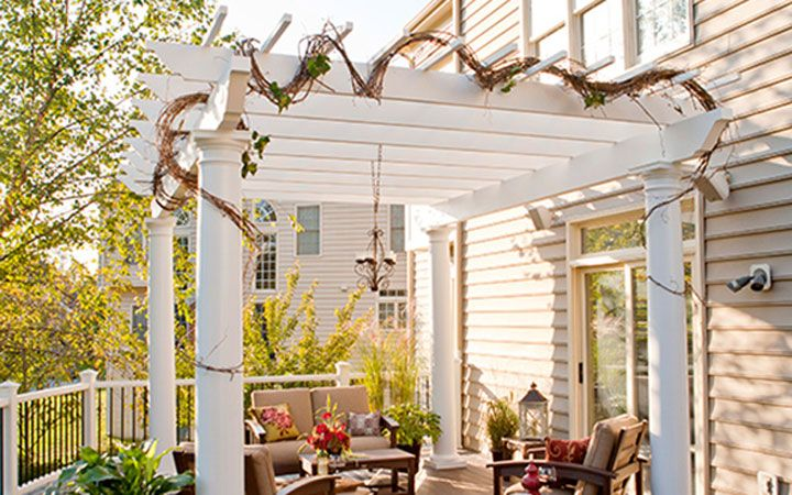 Low Maintenance Engineered Pergola Kits by Trex https://www.trexpergola.com/ trex-pergola/ - Low Maintenance Engineered Pergola Kits By Trex Https://www