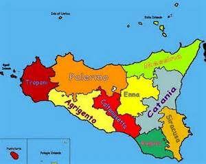 cartina della sicilia -