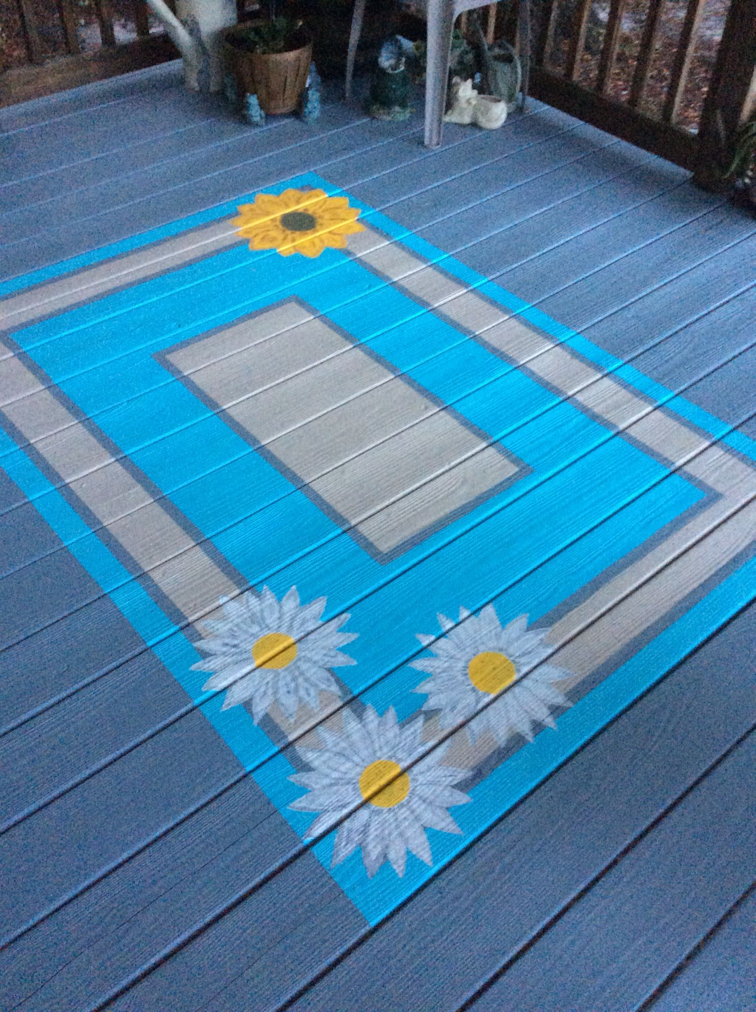 Painted Porch Rug Painted Porch Floors Painted Floors Porch Paint