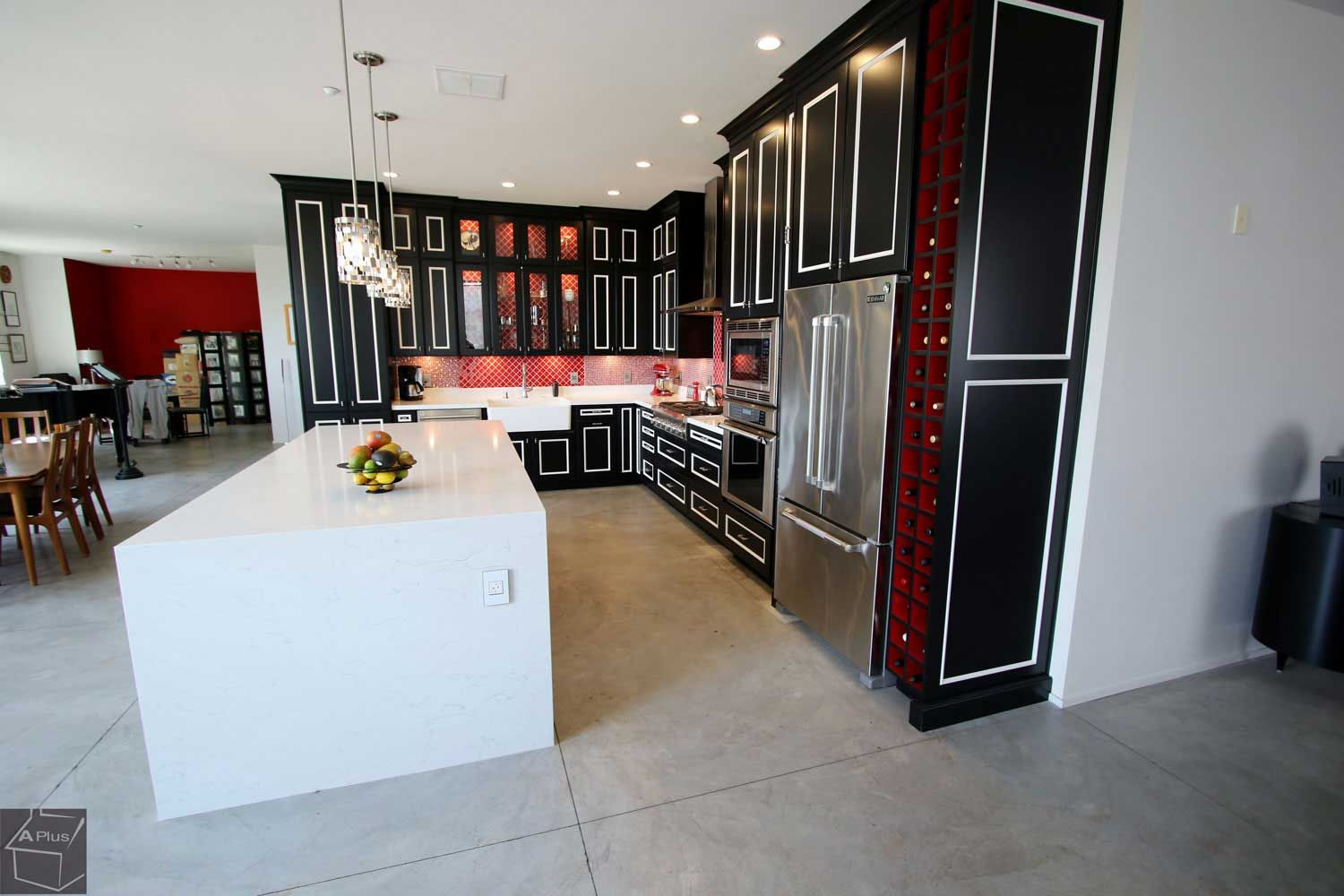 Dark Transitional #cabinets #kitchenremodel In Anaheim Orange County ,  California