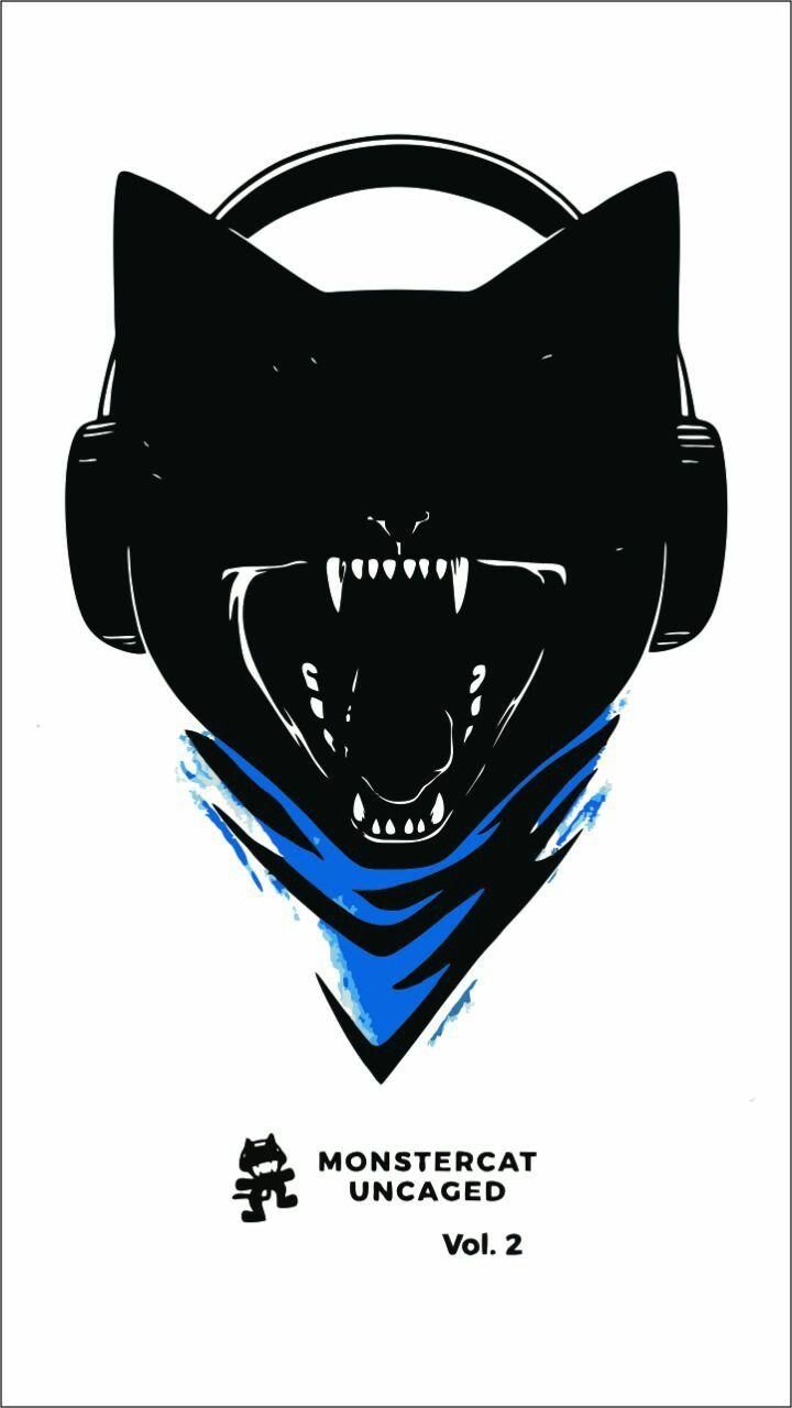 Monstercat Uncaged Vol2 Dj Art Template Skeleton Art