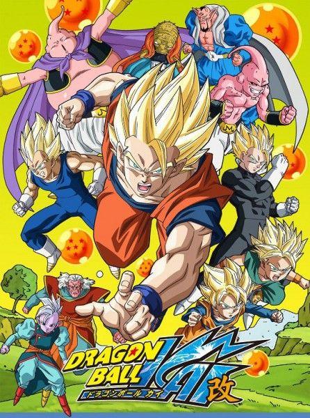 Aujourd Hui Dragon Ball Z Kai Saga Majin Buu Anime Dragon Ball