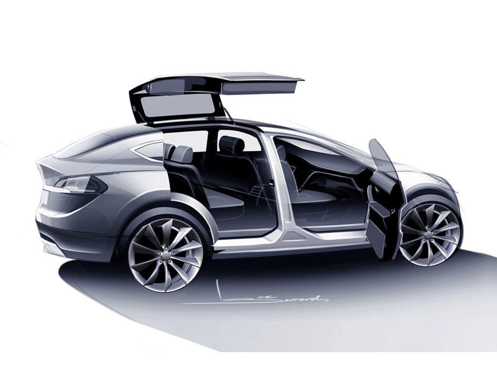 Design of tesla car - Automotive Design