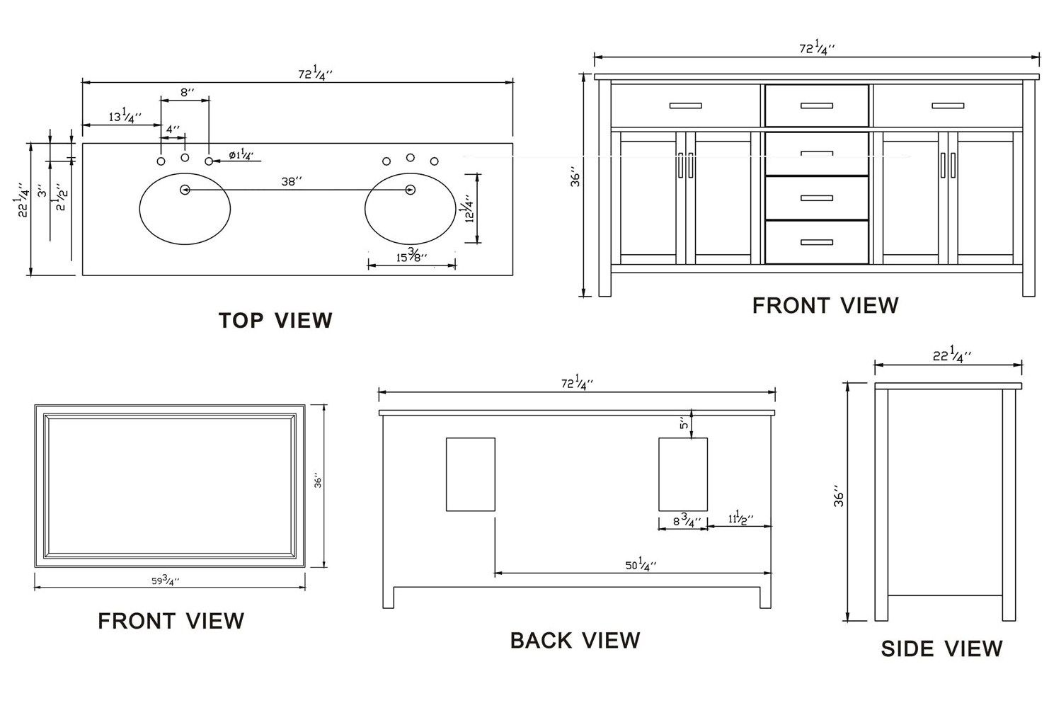 Small bathroom sink dimensions design 9 images of bathroom for Bathroom cabinets sizes