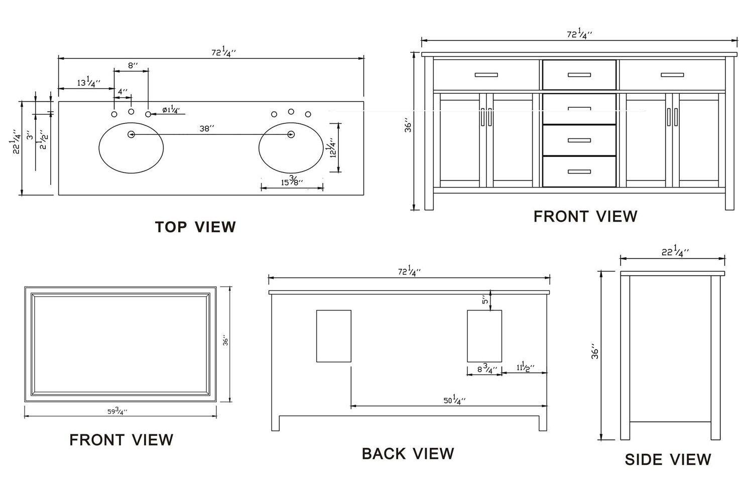 how to measure a bathroom sink bathroom