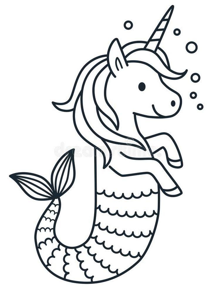 Ariel Little Mermaid Coloring Page 1