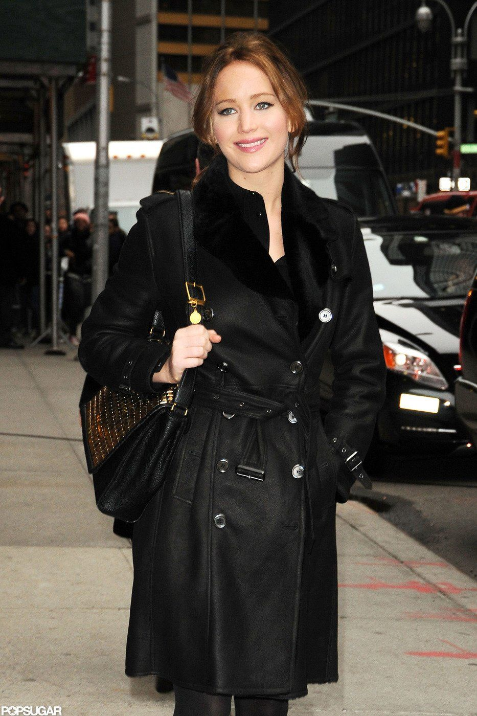 "Jennifer Lawrence Explains Her ""I Beat Meryl"" Globes Speech to Letterman"
