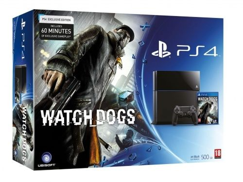 Playstation 4 + Watch Dogs (Nordic) (Hardware)