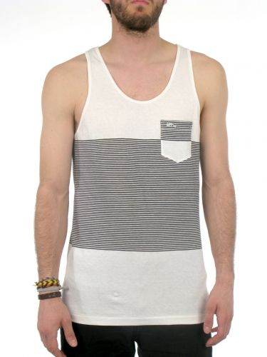 Intersect Tank Top for men by Imperial Motion 100% Cotton Model is wearing  a size