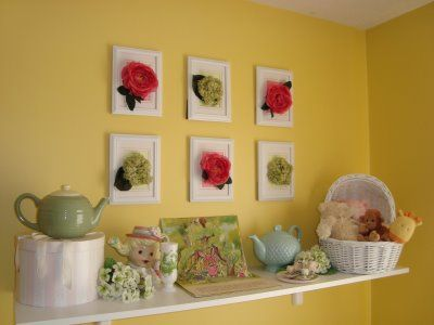 frames | wall art for kid rooms | Pinterest | Silk flowers, Diy ...