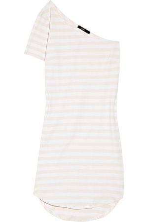 982f5374a159 3 bassike stretch organic cotton one shoulder t shirt dress 7 one shoulder  dresses