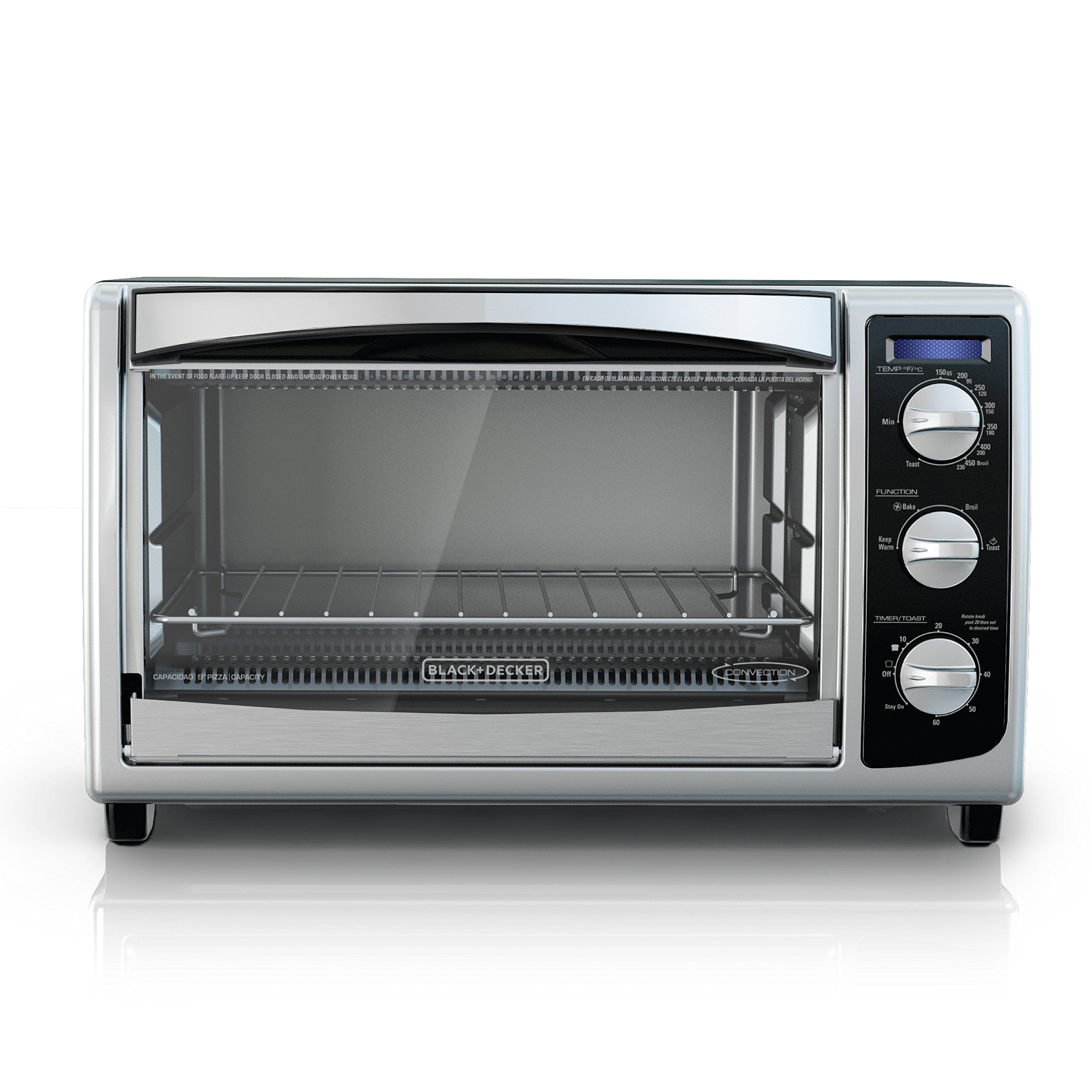 Black Decker To1675b 6slice Convection Countertop Toaster Oven