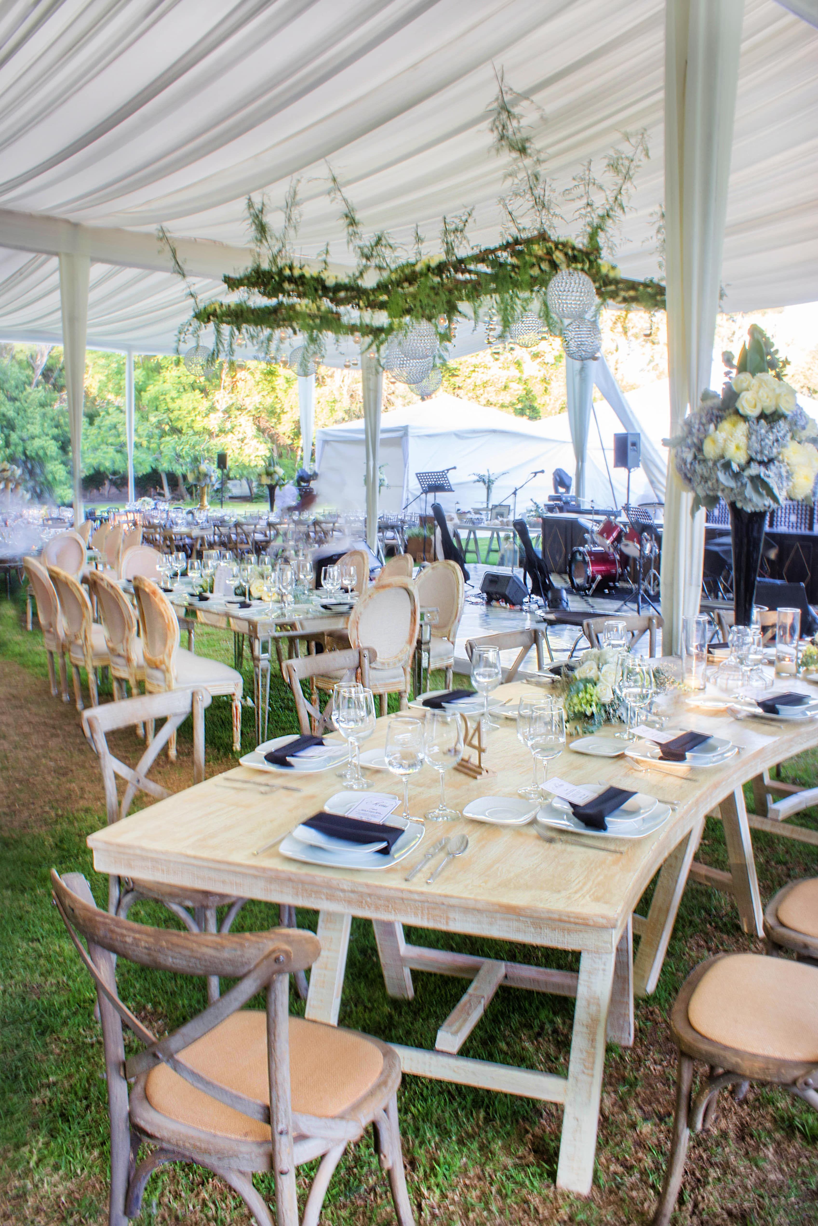 Mobiliario vintage wedding decor boda garden jardin