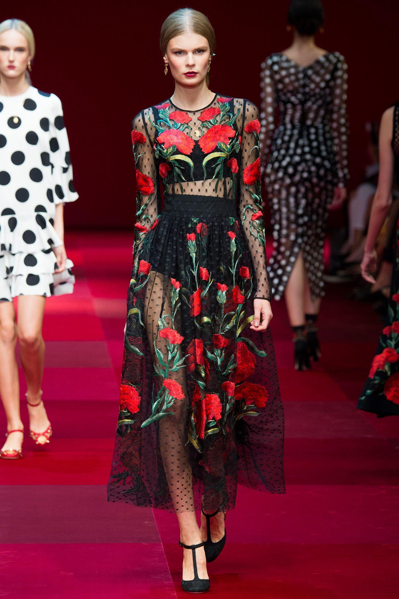 Dolce gabbana vestidos de fiesta 2015