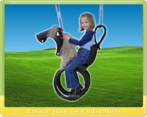 Paardenschommel Van Autoband Schommel Kinderschommel Stier