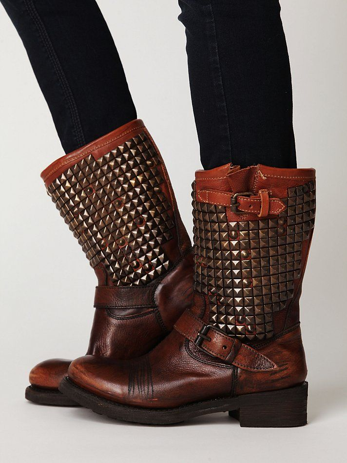 If someone loved me enough they would buy me these in blue :)  Free People Vedder Boot, $385.00
