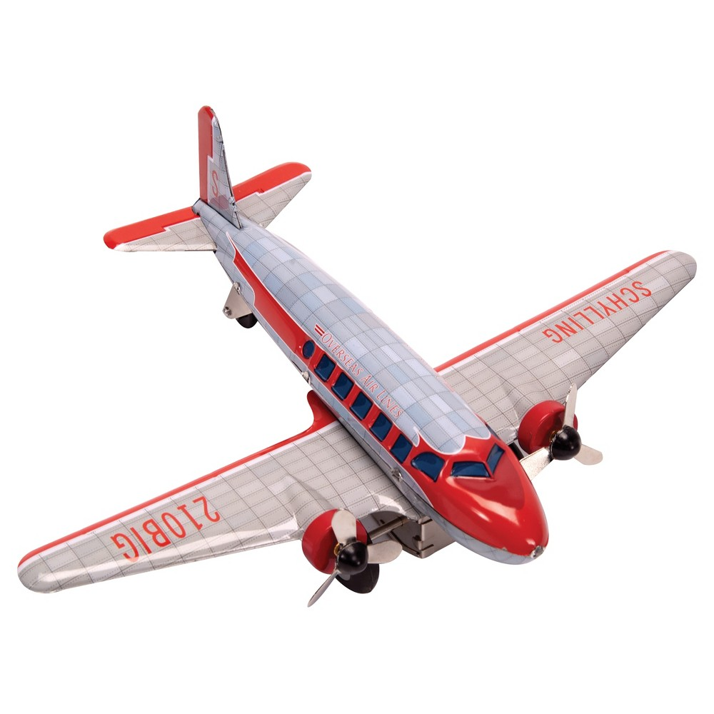Car mirror hanging toys  Schylling DC Airplane with Spinning Propeller  Airplanes Spin