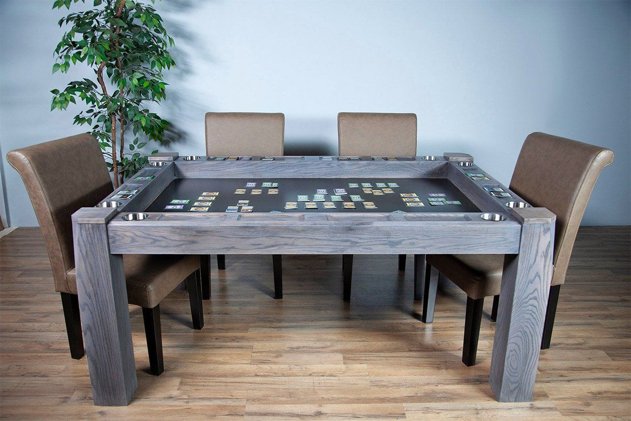 Origins Game Table In 2020 Wooden Dining Room Table Table