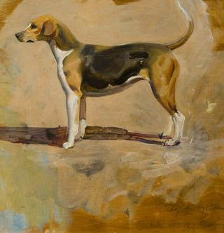 Man S Best Friend Dog Paintings The Fox And The Hound Dog Art